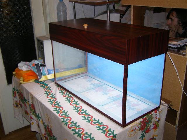 Клеить аквариум своими руками